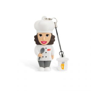 Cuoco Donna – Chiavetta Usb