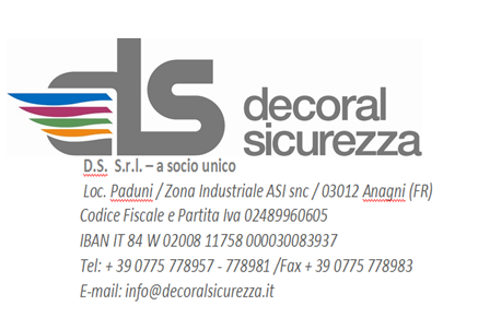 DECORAL SICUREZZA S.R.L.