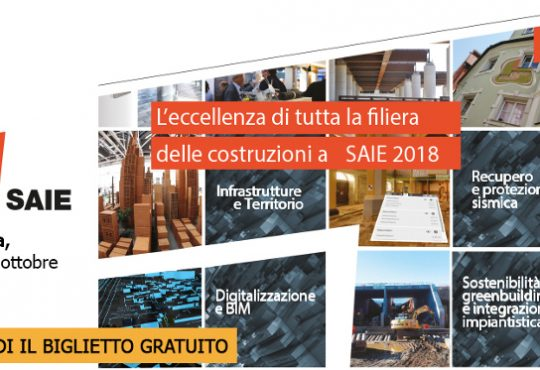 A SAIE 2018 - Laboratori digitali con Bim User Group, tecnologie per l'edilizia e l'ambiente costruito 4.0