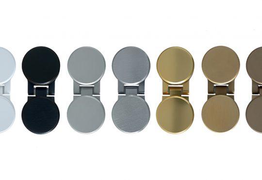 Nuovi colori e nuove finiture per il showers doors systems di Nuova Oxidal