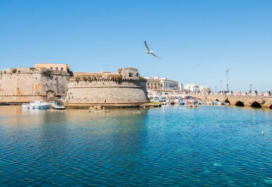 Tesi di laurea in architettura sulla nuova vita del Castello di Gallipoli