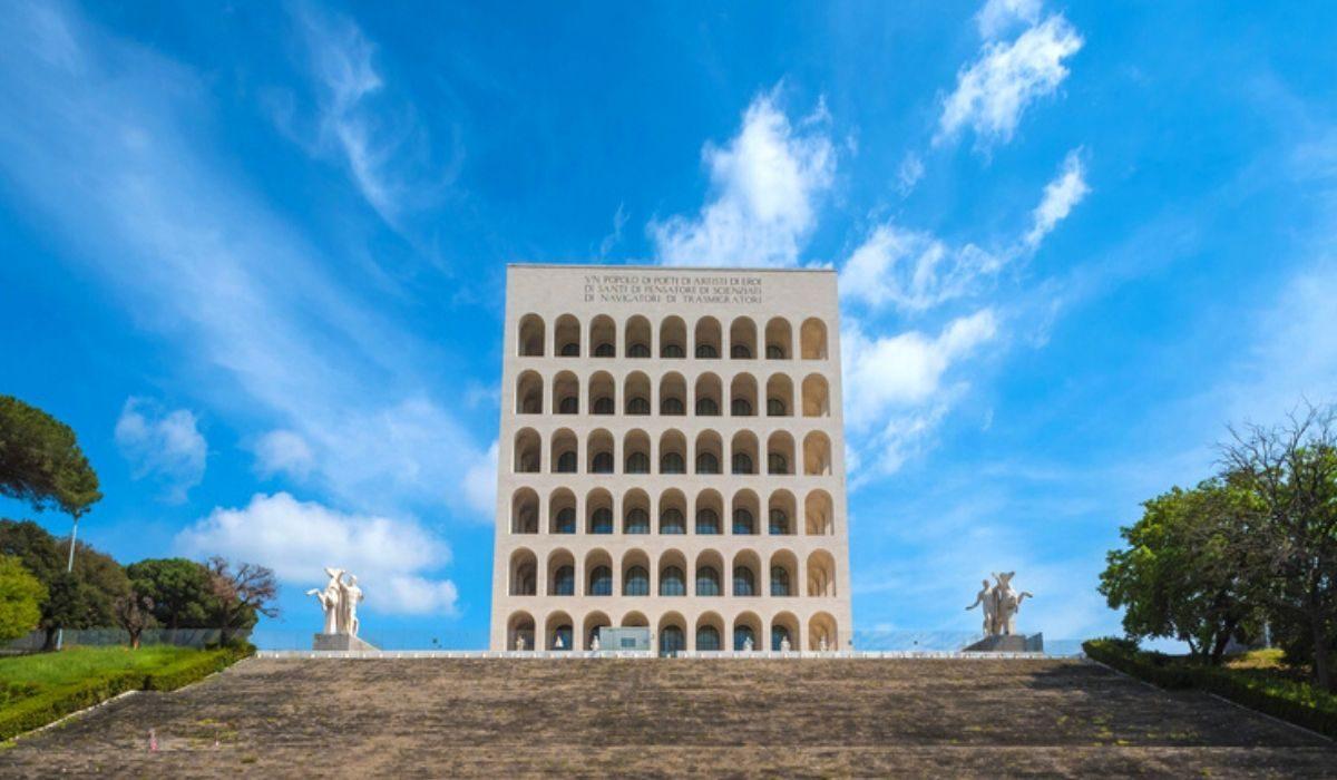 Colosseo Quadrato: il simbolo dell'architettura razionalista