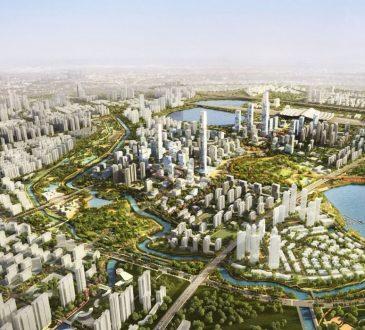 Sasaki ha pubblicato il nuovo master plan per la metropoli di Wuhan!
