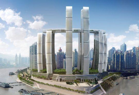 Safdie Architects: inaugurato in Cina un nuovo grattacielo orizzontale