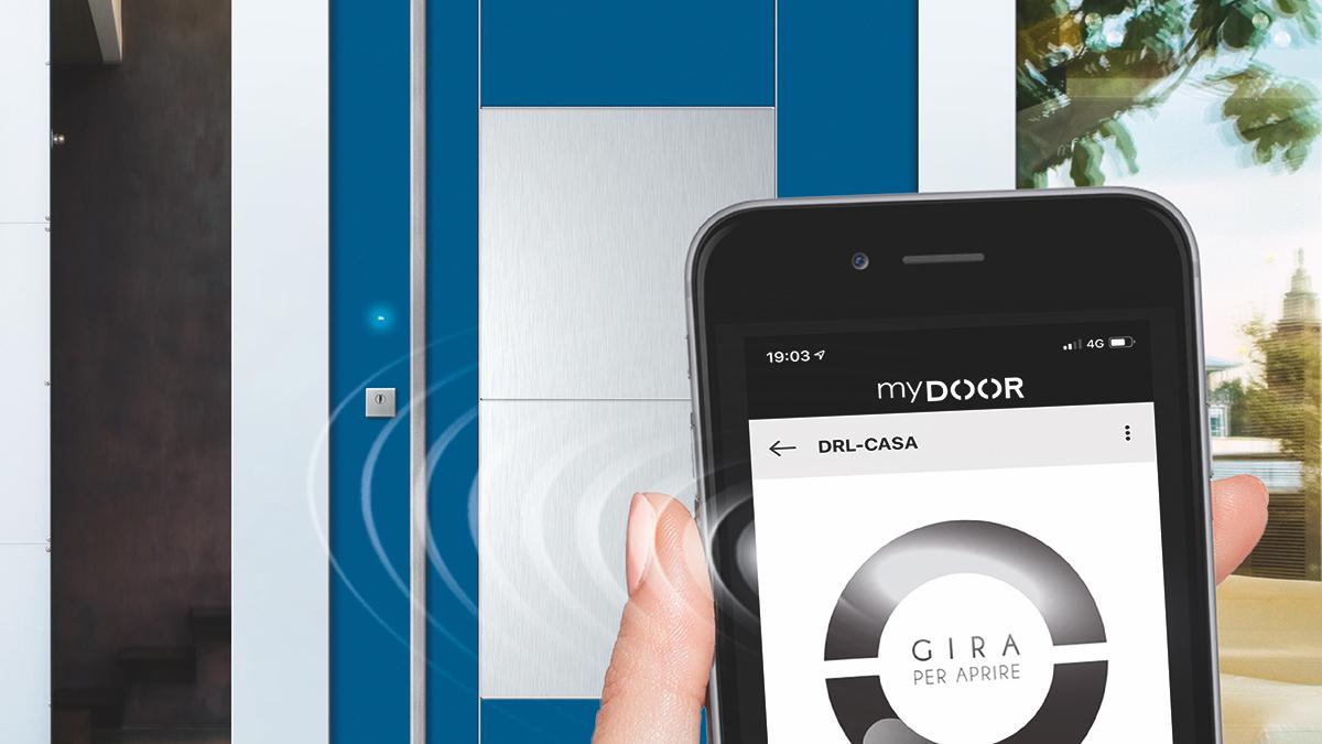 Dierre Next Elettra: la porta blindata hub della sicurezza domestica