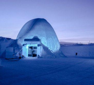Le 5 migliori architetture e hotel di ghiaccio al mondo.