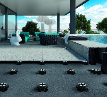 Un nuovo Supporto per pavimentazioni sopraelevate esterne: Pedestal PRIME® by Eterno Ivica