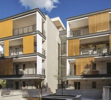 Vincitore del Concorso PREMIO POROTON® 2019: Edificio residenziale Rocca di Mezzo