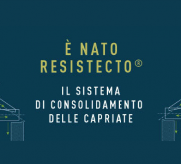 RESISTECTO®: è nato il nuovo consolidamento delle capriate in legno.